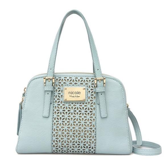nicole by nicole miller bags penelope satchel poshmarknicole by nicole miller penelope satchel